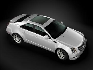 2009 cadillac cts 3d model max 99179
