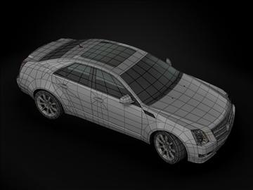 2009 cadillac cts 3d model max 99180