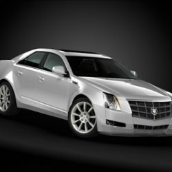 2009 Cadillac CTS ( 43.38KB jpg by ArchCars )