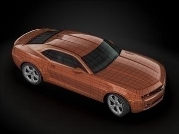 2010 chevrolet camaro 3d загвар max 99171