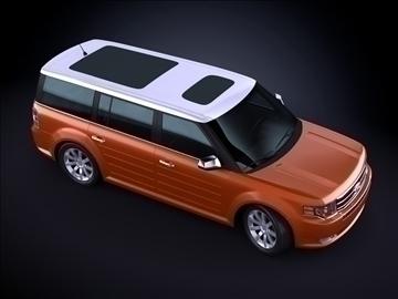 2010 ford flex 3d max max 99183