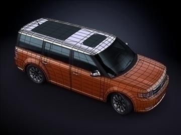 2010 ford flex 3d max max 99184