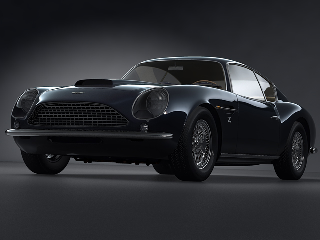 aston martin db4 gtato model 3d 3ds max fbx obj 124393