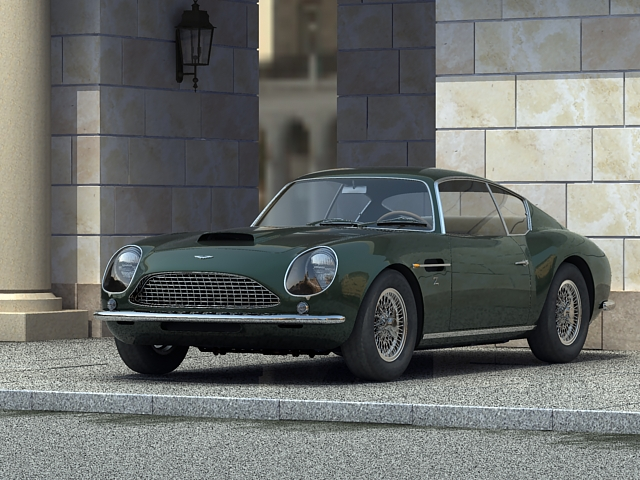 aston martin idman coupe 3d model 3ds max obj 125022