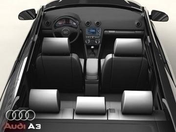 audi a3 3d model 3ds max obj 81459