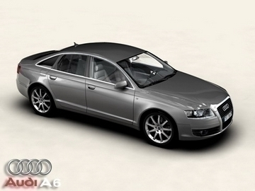 audi a6 3d modell 3ds max objektum 81491