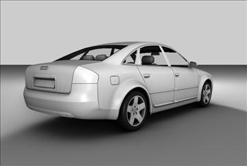 Audi a6 sedan 3d model 3ds c4d gwead 109137
