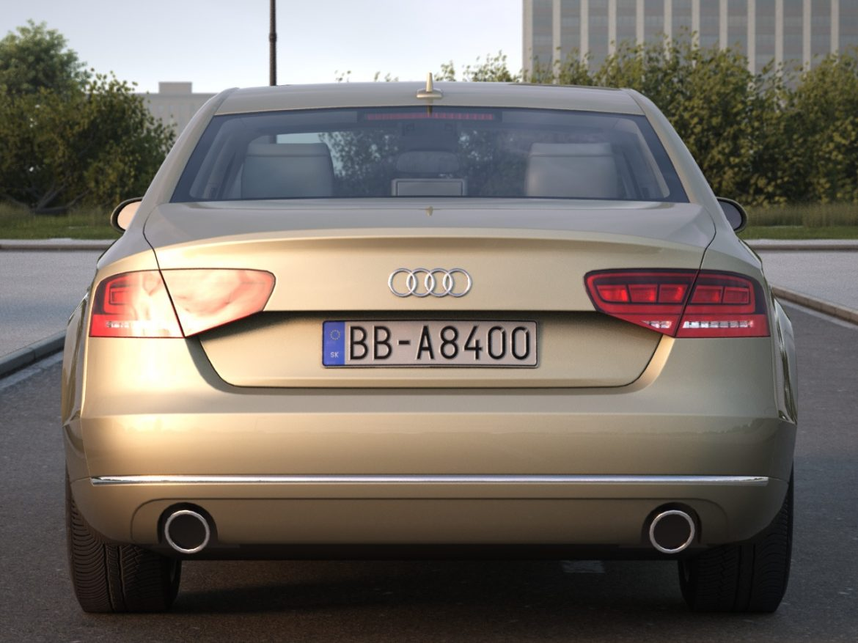 audi a8 (2010) 3d model 3ds max fbx c4d obj 106202