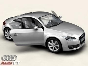 audi tt 2006 3d model 3ds max obj 81512