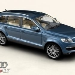 Audi Q7 ( 64.37KB jpg by Behr_Bros. )