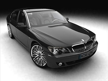 bmw 7-series 2005 3d model 3ds lwo ma mb obj 85908