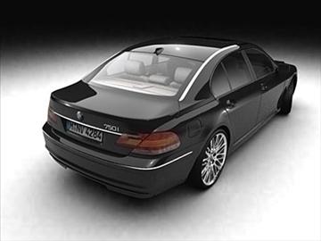 bmw 7-series 2005 3d model 3ds lwo ma mb obj 85909