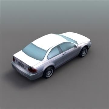bmw e60 tuned 3d model 3ds max fbx lwo ma mb hrc xsi obj 99522