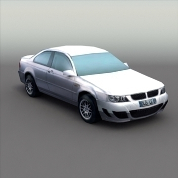 bmw e60 tuned 3d model 3ds max fbx lwo ma mb hrc xsi obj 99523