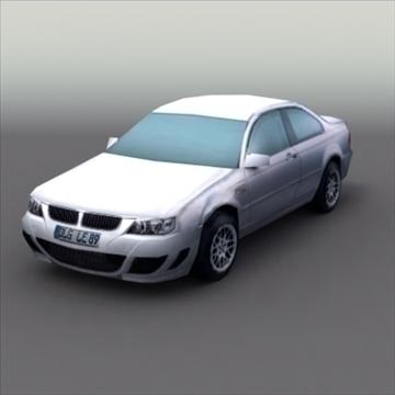 bmw e60 tuned 3d model 3ds max fbx lwo ma mb hrc xsi obj 99524