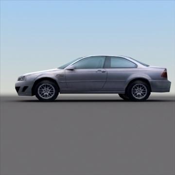 bmw e60 tuned 3d model 3ds max fbx lwo ma mb hrc xsi obj 99525