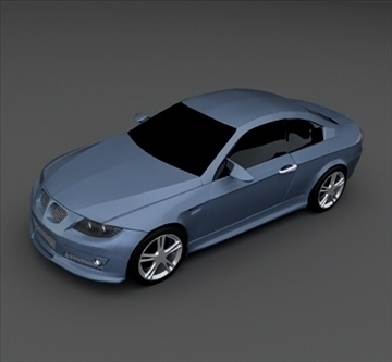 bmw m3 coupe 3d model 3ds fbx përzierje lwo obj 103414