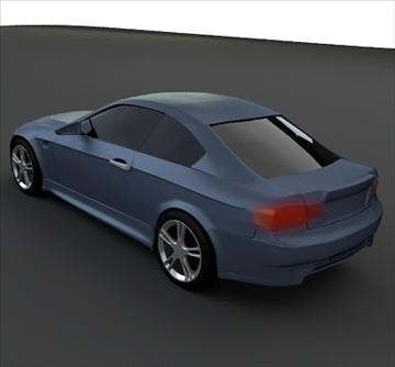 bmw m3 coupe 3d model 3ds fbx blend lwo obj 103415
