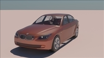 bmw m5 3d model 3ds max ma mb obj 106155