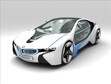 bmw vision efficient dynamics 3d model max fbx c4d obj 111733