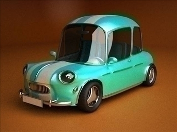 car cartoon-with interior 3d model max 86806