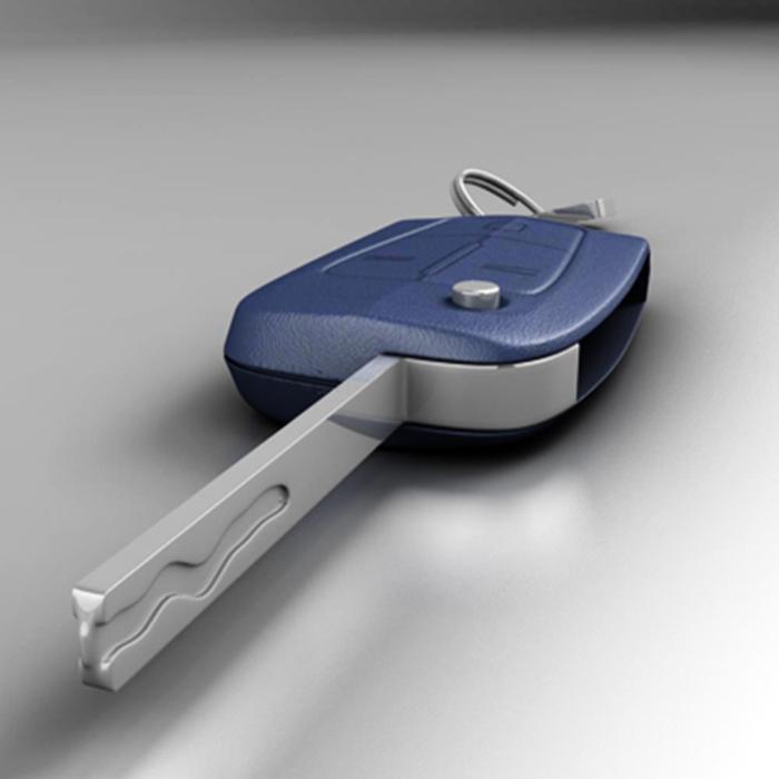 car key 3d model 3ds max fbx ma mb obj 155912