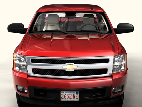 chevrolet silverado 2007 3d model 3ds max obj 114297