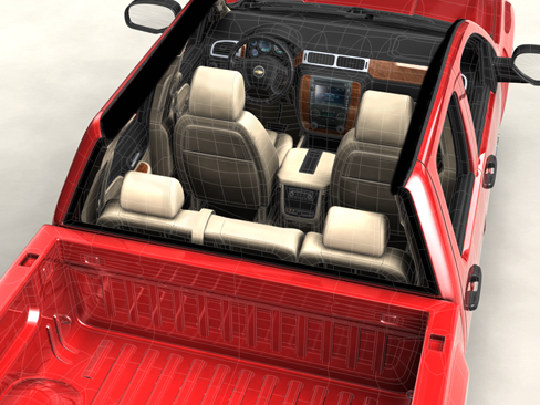 chevrolet silverado 2007 3d model 3ds max obj 114301