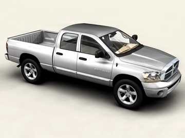 dodge ram 1500 3d model 3ds max obj 81541