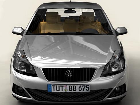 generic car compact class 3d model 3ds max obj 115881