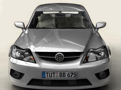 generic car middle class 3d model 3ds max obj 115891