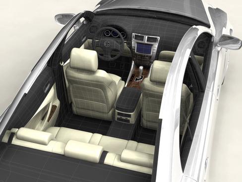 generic car middle class 3d model 3ds max obj 115896