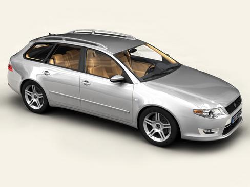 automobiļu universālais vagons 3d modelis 3ds max obj 115899