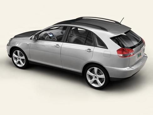 generic car suv 3d model 3ds max obj 115910