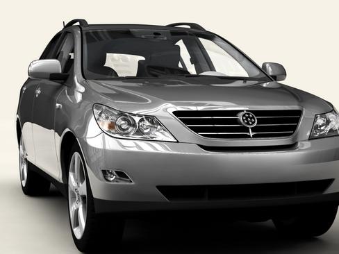 generic car suv 3d model 3ds max obj 115912