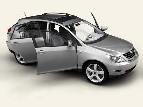 generic car suv 3d model 3ds max obj 115913