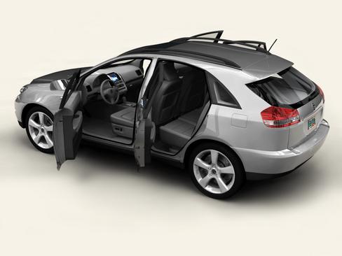 generic car suv 3d model 3ds max obj 115914