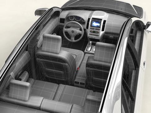 generic car suv 3d model 3ds max obj 115916