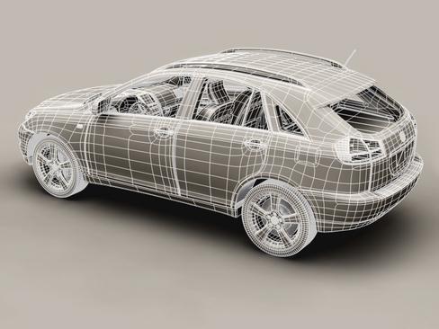 generic car suv 3d model 3ds max obj 115918