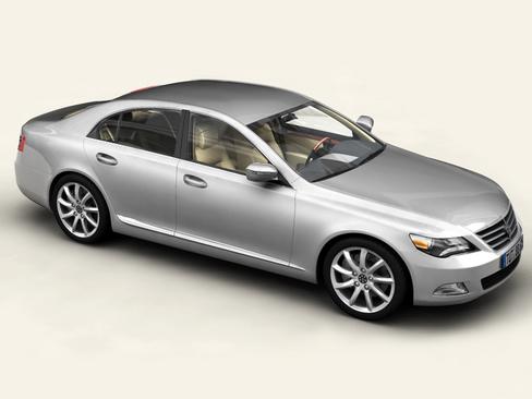 загальний автомобіль верхнього класу 3d модель 3ds max obj 115919