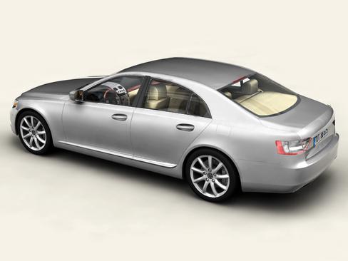 generic car upper class 3d model 3ds max obj 115920