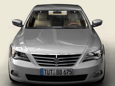 generic car upper class 3d model 3ds max obj 115921