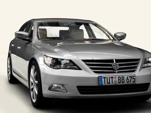 generic car upper class 3d model 3ds max obj 115922