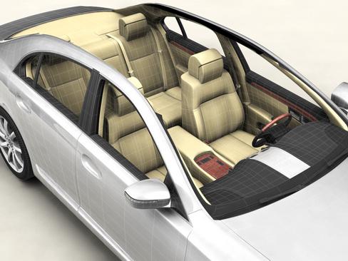 generic car upper class 3d model 3ds max obj 115925