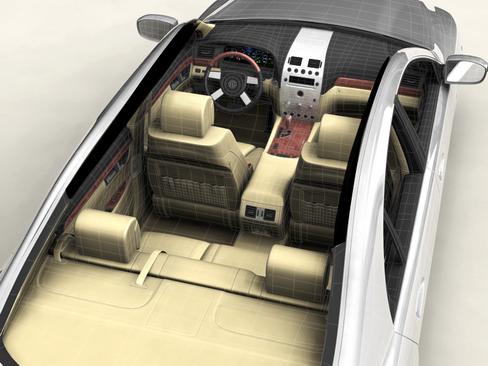 generic car upper class 3d model 3ds max obj 115926