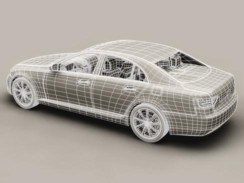 generic car upper class 3d model 3ds max obj 115928