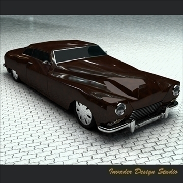 hermes classic car 3d model 3ds max other 111865