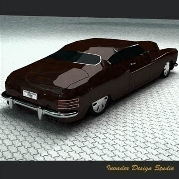 hermes classic car 3d model 3ds max other 111866