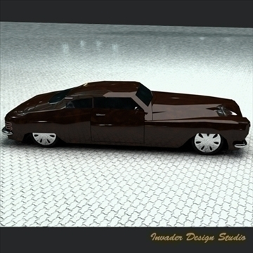 hermes classic car 3d model 3ds max other 111867