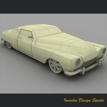 hermes classic car 3d model 3ds max other 111868